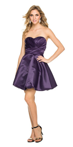 Two Tone Plum Gold Overlay Short Lace Dress Wide Strap