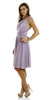 Short Convertible Jersey Dress Lavender 20 Different Looks