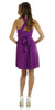 Short Convertible Jersey Dress Magenta 20 Different Looks