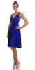 Short Convertible Jersey Dress Royal Blue 20 Different Looks