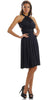 Short Convertible Jersey Dress Black 20 Different Looks