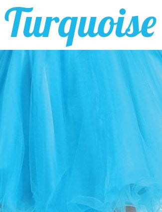 Starbox USA 6059 Poofy Short Homecoming Dress Turquoise Tulle Strapless Rhinestones