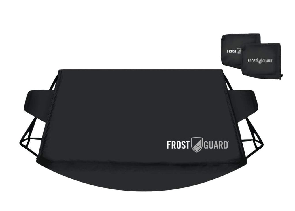 Standard, Snowflake FrostGuard Plus Winter Windshield Protects from Snow Security Panels and Wiper Blade Cover Weather Resistant Ice and Frost Mirror Covers