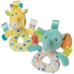 Taggies Pretty Prints Kaleidoscope Elephant & Gumdrops Giraffe