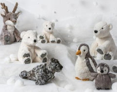 Chillin' Friends Arctic Stuffed Animals by Mary Meyer