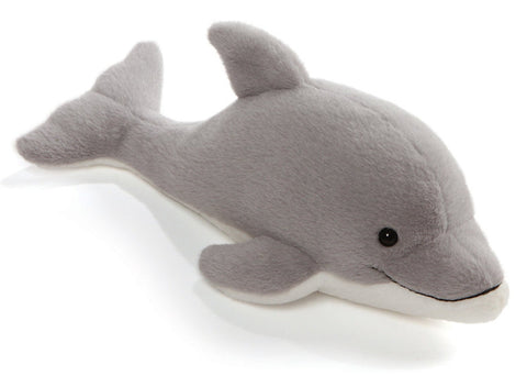 Aquatic Wonders Dolphin Stuffed Animal 14 Gund Plush Friends