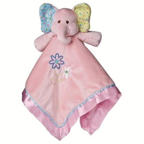 "Ella Bella Pink Elephant Character Blanket - 17"" - Mary Meyer Baby"