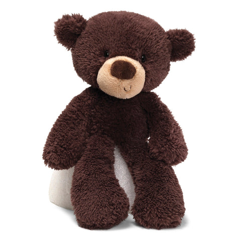 "Gund Fuzzy Chocolate Brown Teddy Bear - 15"" - Gund"