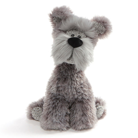 "Bentley the Gray Wire Hair Terrier Dog - 11.5"" - Gund"