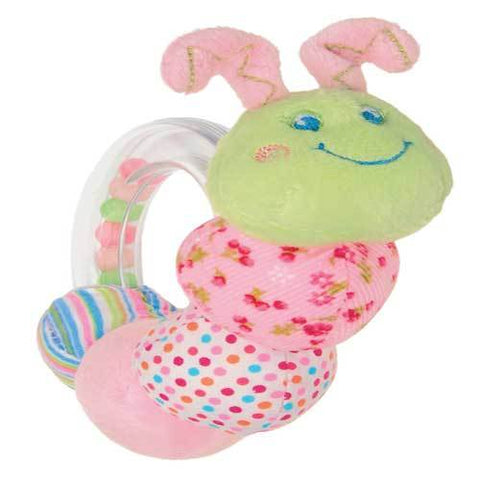 "Cutsie Caterpillar Ring Rattle - 5"" - Mary Meyer Baby"