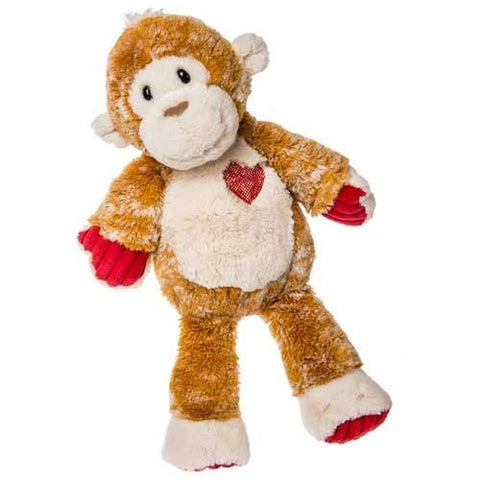 "Marshmallow Zoo Muffin the Valentine's Day Monkey - 15"" - Mary Meyer"