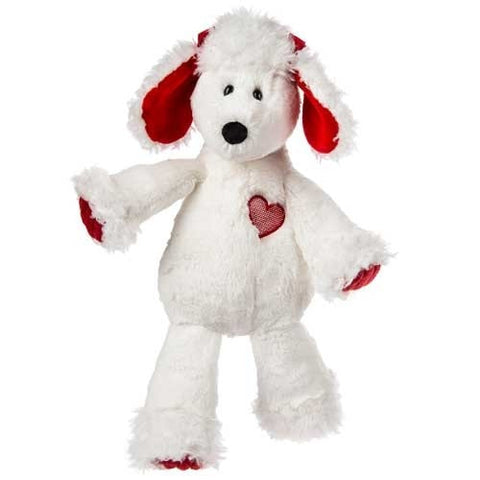 "Marshmallow Zoo Paris Poodle the Valentine's Day Dog - 14.5"" - Mary Meyer"
