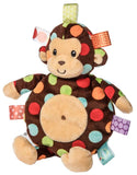 "Taggies Dazzle Dots Monkey Cookie Crinkle Stuffed Animal - 11"" - Mary Meyer Baby"