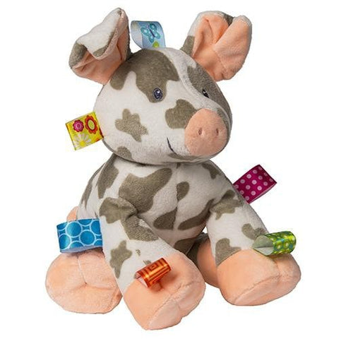 "Taggies Patches Spotted Pig Stuffed Animal - 12"" - Mary Meyer Baby"