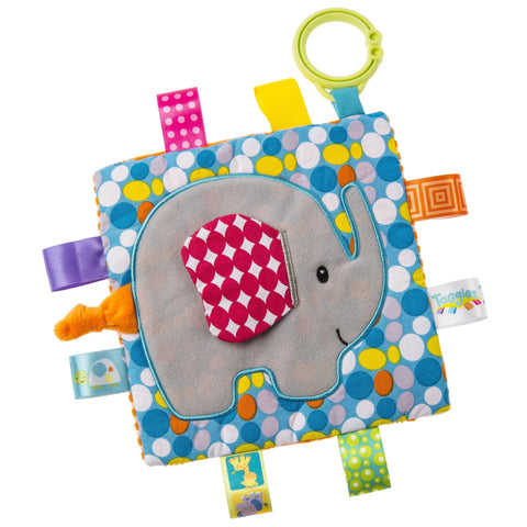 "Taggies Crinkle Me Elephant Activity Toy - 6.5"" - Mary Meyer Baby"