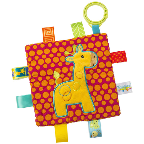 "Taggies Crinkle Me Giraffe Activity Toy - 6.5"" - Mary Meyer Baby"