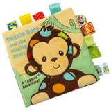 "Taggies Dazzle Dots Monkey Soft Book - 6"" - Mary Meyer Baby"