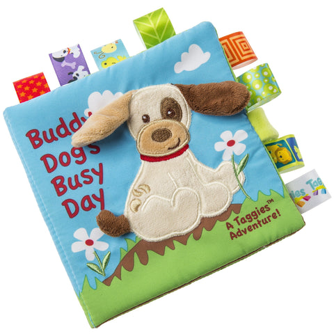 "Taggies Buddy Dog Soft Book - 6"" - Mary Meyer Baby"