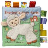 "Taggies Sherbet Lamb Soft Book - 6"" - Mary Meyer Baby"