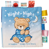 "Taggies Starry Night Teddy Soft Book - 6"" - Mary Meyer Baby"