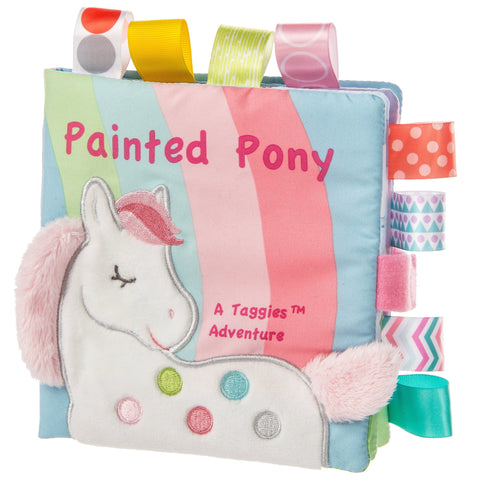 "Taggies Painted Pony Soft Book - 6"" - Mary Meyer Baby"