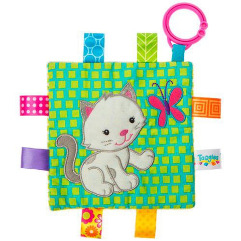 "Taggies Crinkle Me Kitten Activity Toy - 6.5"" - Mary Meyer Baby"
