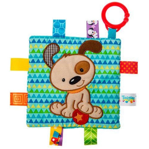 "Taggies Crinkle Me Brother Puppy Dog Activity Toy - 6.5"" - Mary Meyer Baby"