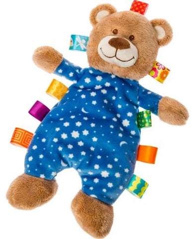 "Taggies Starry Night Teddy Bear Lovey Security Blanket - 12"" - Mary Meyer Baby"