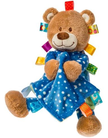 "Taggies Starry Night Teddy Bear holding Blanket - 15"" - Mary Meyer Baby"