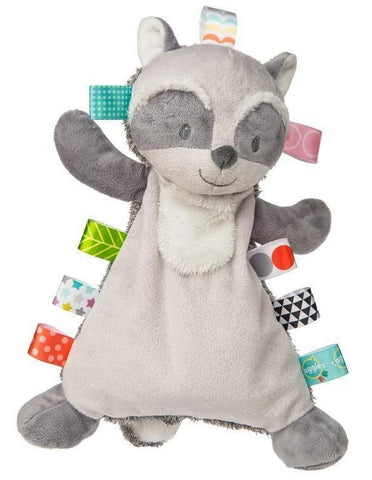 "Taggies Harley Raccoon Lovey Security Blanket - 12"" - Mary Meyer Baby"