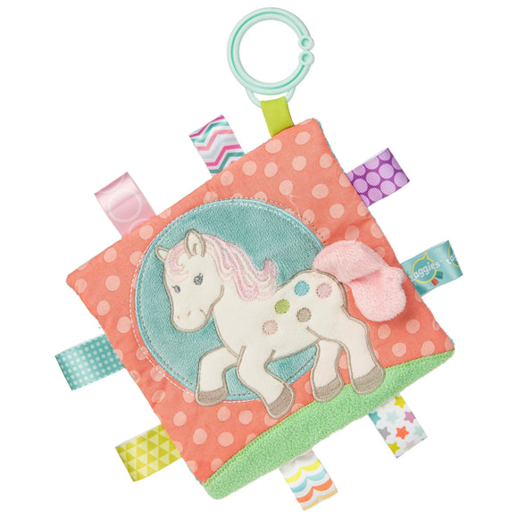 Taggies Crinkle Me Painted Pony Activity Toy - 6.5