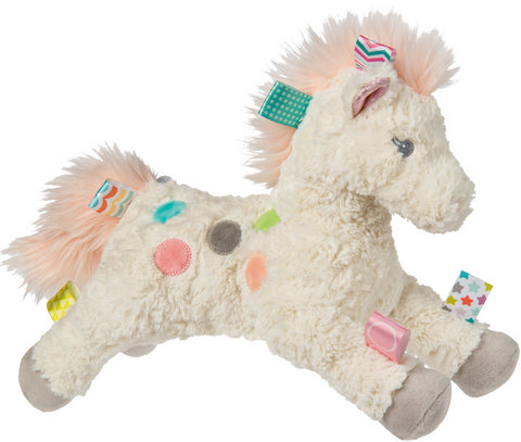 "Taggies Painted Pony Stuffed Animal Horse - 13"" - Mary Meyer Baby"