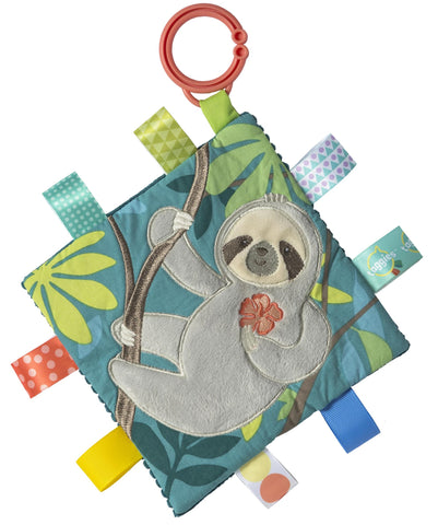 "Taggies Crinkle Me Molasses Sloth Activity Toy - 6.5"" - Mary Meyer Baby"