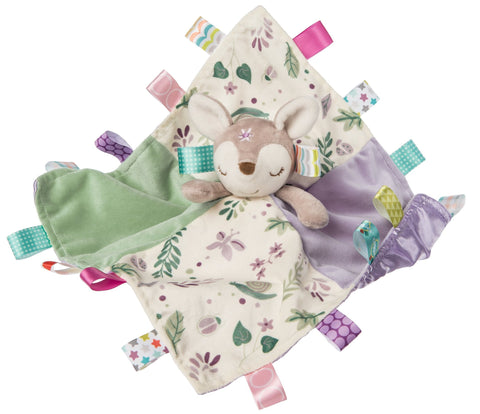 "Taggies Flora Fawn Character Blanket - 13"" - Mary Meyer Baby"