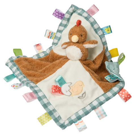 "Taggies Chikki Chicken Character Blanket - 13"" - Mary Meyer Baby"