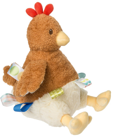 "Taggies Chikki Chicken Wind-Up Musical Plush Toy - 8"" - Mary Meyer Baby"