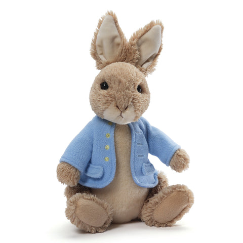 "Classic Peter Rabbit Stuffed Animal Small - 6.5"" - Gund"