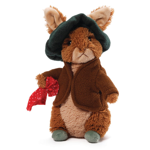 "Classic Benjamin Bunny Stuffed Animal from Peter Rabbit - 6.5"" - Gund"
