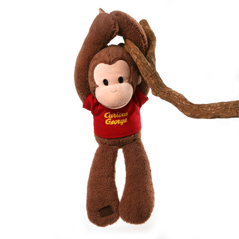 "Curious George Touch & Close Take Along Buddy - 18"" - Gund"