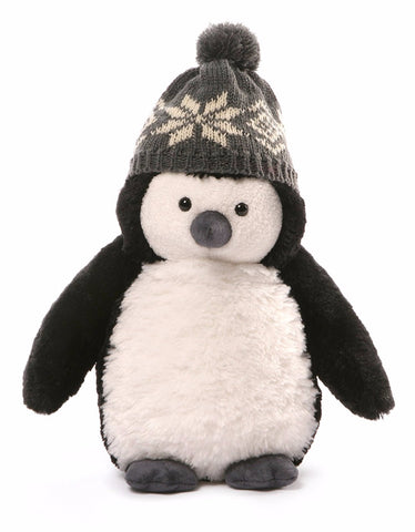 "Puffers the Winter Penguin Small - 10.5"" - Gund"