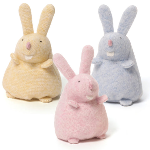 "Misty Pastel Easter Bunny Rabbit Beanbags - 4.5"" - Gund"