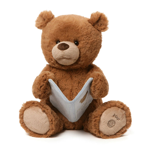"Storytime Cub Talking Teddy Bear - 15"" - Baby Gund"