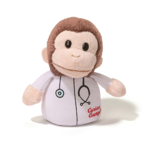 "Curious George Doctor Sound Toy - 4"" - Gund"