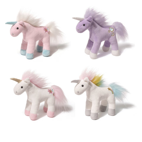 "Animal Chatter Twinkling Sound Unicorns - 6"" - Gund"