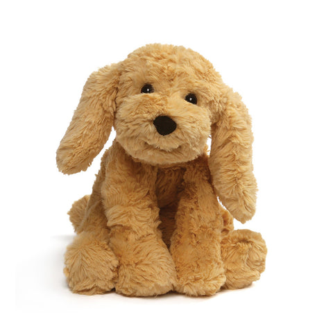 "Golden Brown Dog Cozy Stuffed Animal Small - 8"" - Gund"