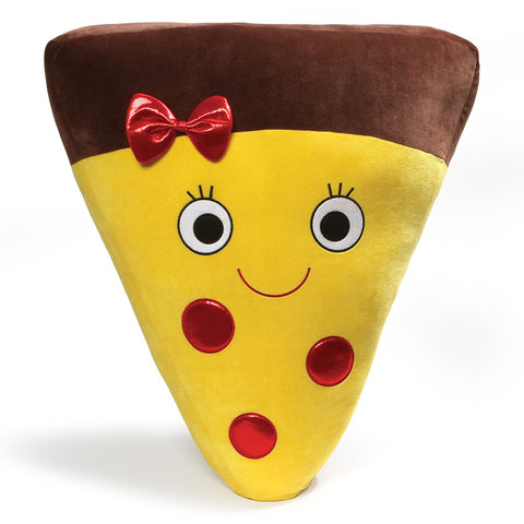 "Sparkle Snacks Jumbo Plush Pizza Slice - 24"" - Gund"