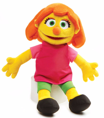 "Sesame Street Julia Plush Doll - 14"" - Gund"