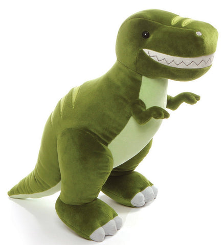 Chomper Dino T Rex Dinosaur Stuffed Animal 15 5 Gund Plush
