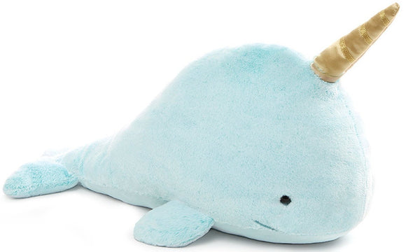 Nori Narwhal Whale Stuffed Animal Large - 18