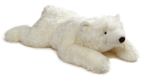 "Philip the Lying Polar Bear Jumbo Teddy Bear - 39"" - Gund"